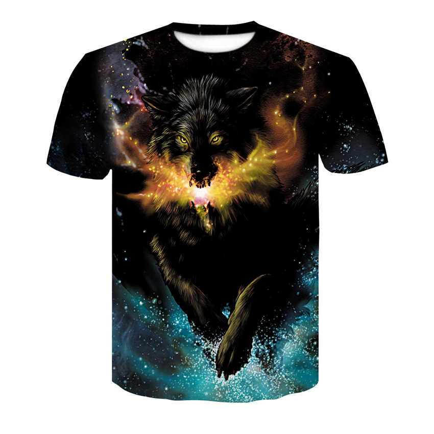 2019 ultime harajuku 3d-printed fresco T-Shirt gli uomini e le donne casuali di sport di estate a maniche corte T-Shirt T-Shirt di moda