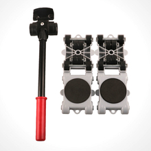 8pcs Furniture Mover Tool Transport Heavy Stuffs Home Moving Roller Set  Use Sliders Professional 360 Degree Rotatable