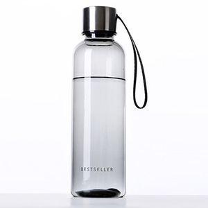 Hot Selling 550mL BPA Free Cycling Outdoor Water Bottle Unbreakable Leak-proof Drink Cup Lanyard Hand Glass Soda Bottle Garrafa(China)