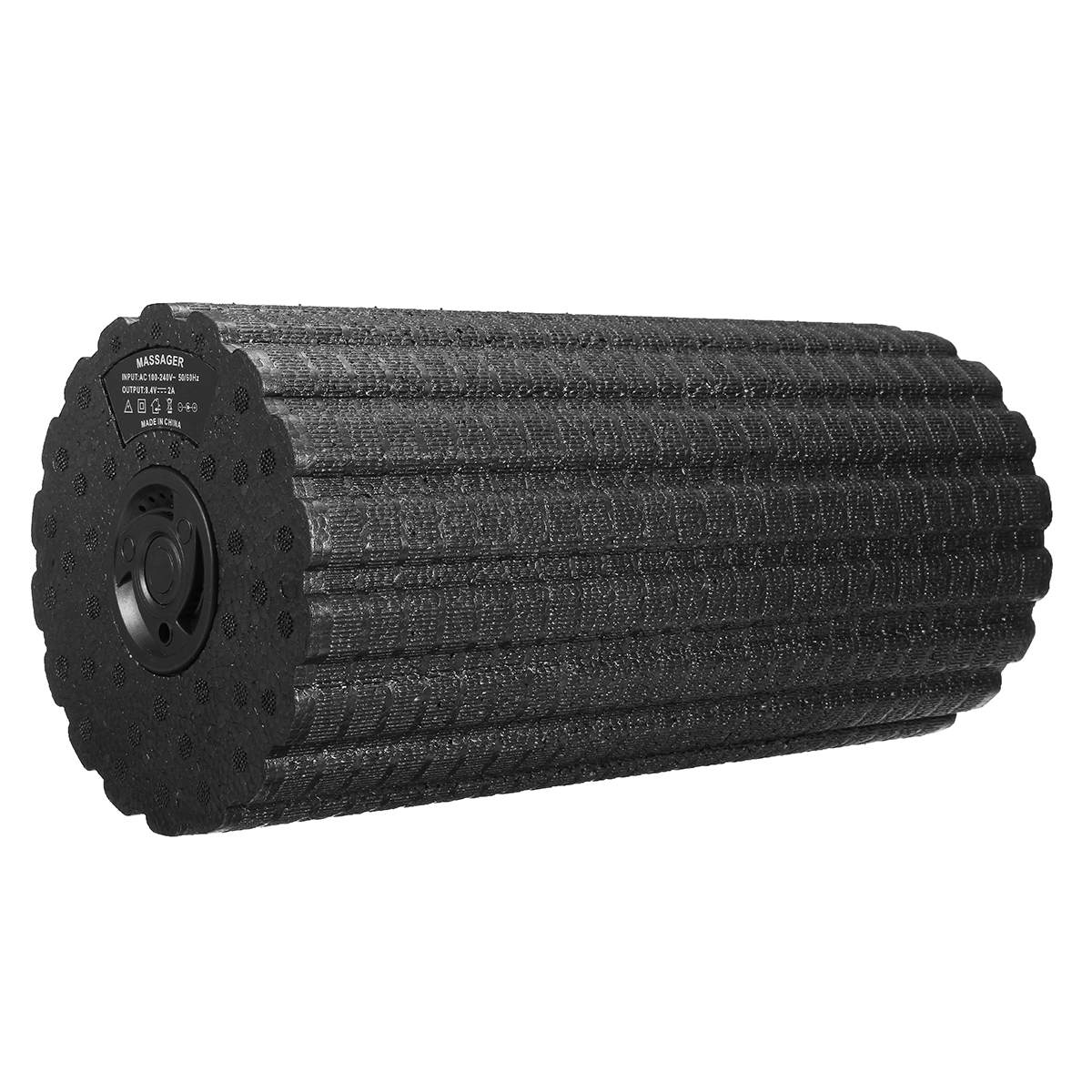 Foam Roller In Yoga Blocks 4 Gears Adjust Low Noise Fitness Gym Yoga Roller Pilates Electric Vibration Body Slimming Massager