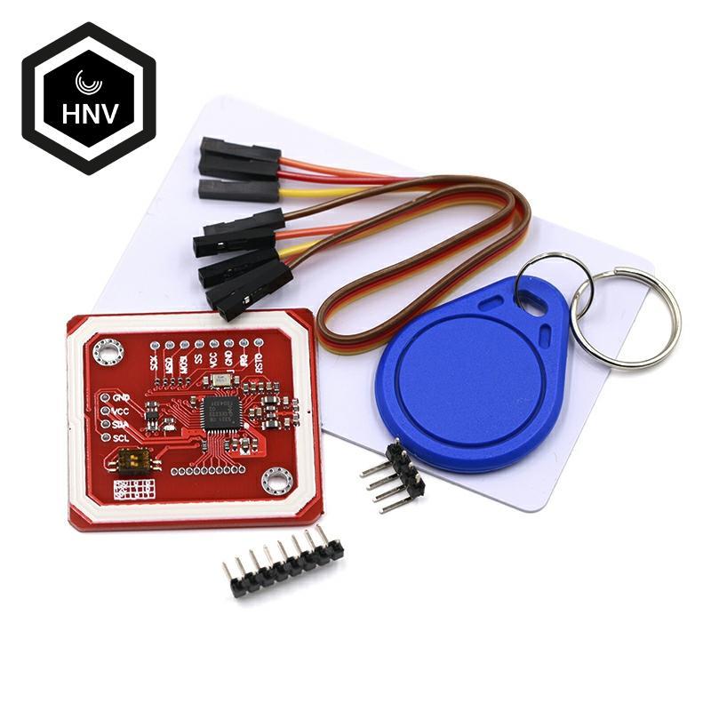 NFC RFID беспроводной модуль PN532, модель V3, устройство чтения записей, IC S50 карта, печатная плата, комплект I2C IIC SPI HSU для Arduino|Интегральные схемы|   | АлиЭкспресс