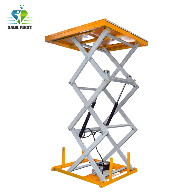 Qingdao SINOFIRST Roller Scissors Lift Table For Hot Sales