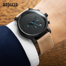 BAOGELA Multifunction Chronograph Fashion Casual Watch Analog Quartz Waterproof Calendar Date Wrist Watch все цены