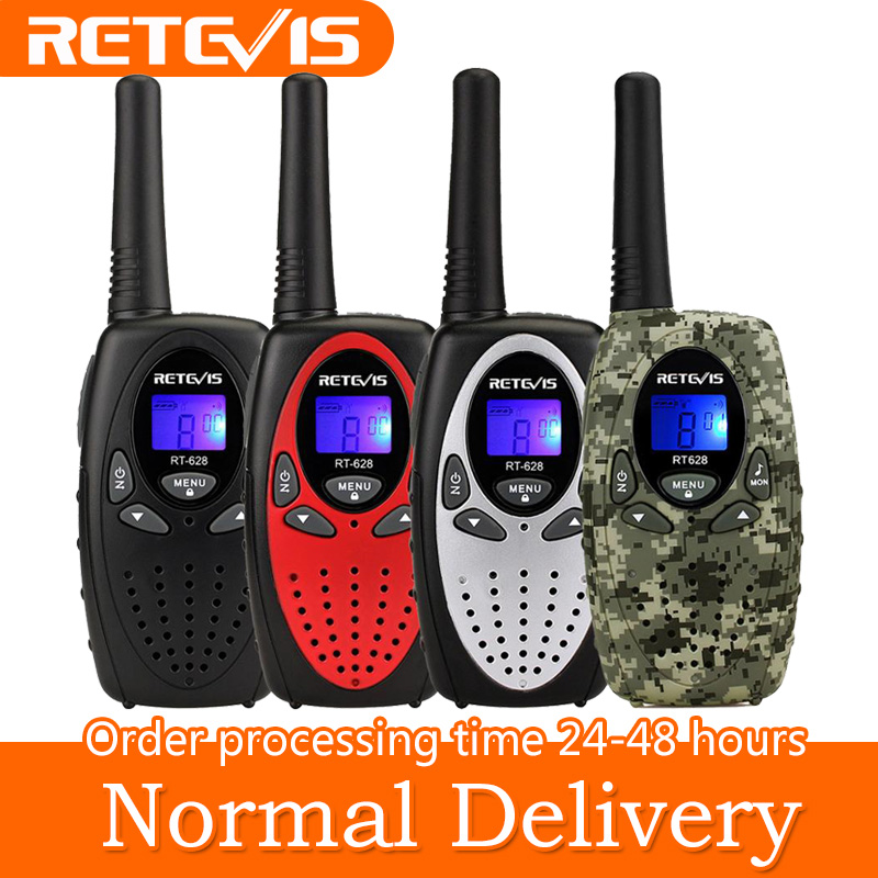 RETEVIS RT628 Mini Walkie Talkie 2pcs Kids Radio 0.5W PMR PMR UHF Frequency Portable Radio Station Handheld Radio Christmas Gift