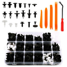 AYHF-435 Pcs/Set Car Body Interior Fender Bumper Retainers Fasteners Clips Plastic Rivets Trim Assortment Kit Screws Panel Faste(China)