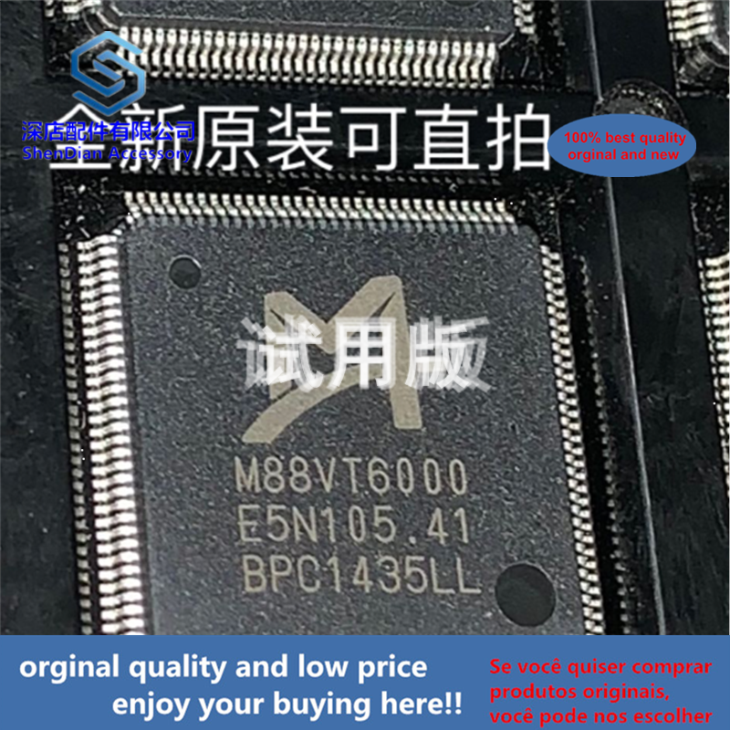 1pcs 100% Orginal And New M88VT6000 TQFP128  Best Qualtiy