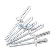 50/100pcs M2.4 M3.2 M4 M5 GB12618 Aluminium Mushroon Head Break Mandrel Blind Rivets Nail Pop Rivets For Furniture Car Aircraft цена