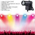 30 Вт RGBW светодиодный DMX512 сценический светильник Pinpot луч Точечный светильник 6CH DJ/DISCO/вечерние/KTV Светодиодная лампа для сценических эффектов...