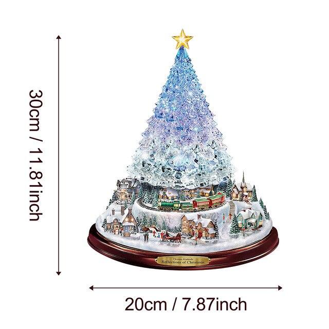 Paintings Wonderland Express Christmas Tree 5