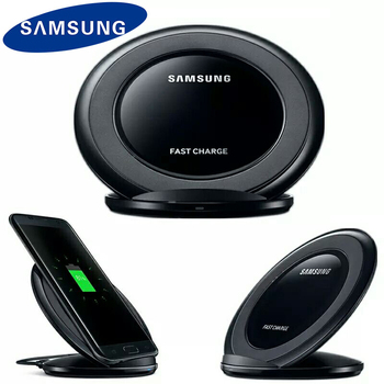 Original Samsung Qi Wireless Charger Pad For Galaxy S9 S10 S8 Plus S7 edge Note 9 8 10 plus For iPhone 11 X XR XS Fast Charging