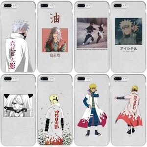 Naruto Uchiha Sasuke Uzumaki Cover Case for iPhone 5 5S SE 2020 6 6S 7 8 Plus XR X XS 11 12 Mini Pro Max