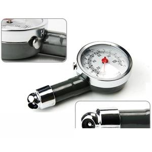 Image 3 - Manomètre analogique de pression dair de pneu de roue automatique, compteur poignée miroir en forme de véhicule, testeur de pneu de voiture, système de surveillance de lair