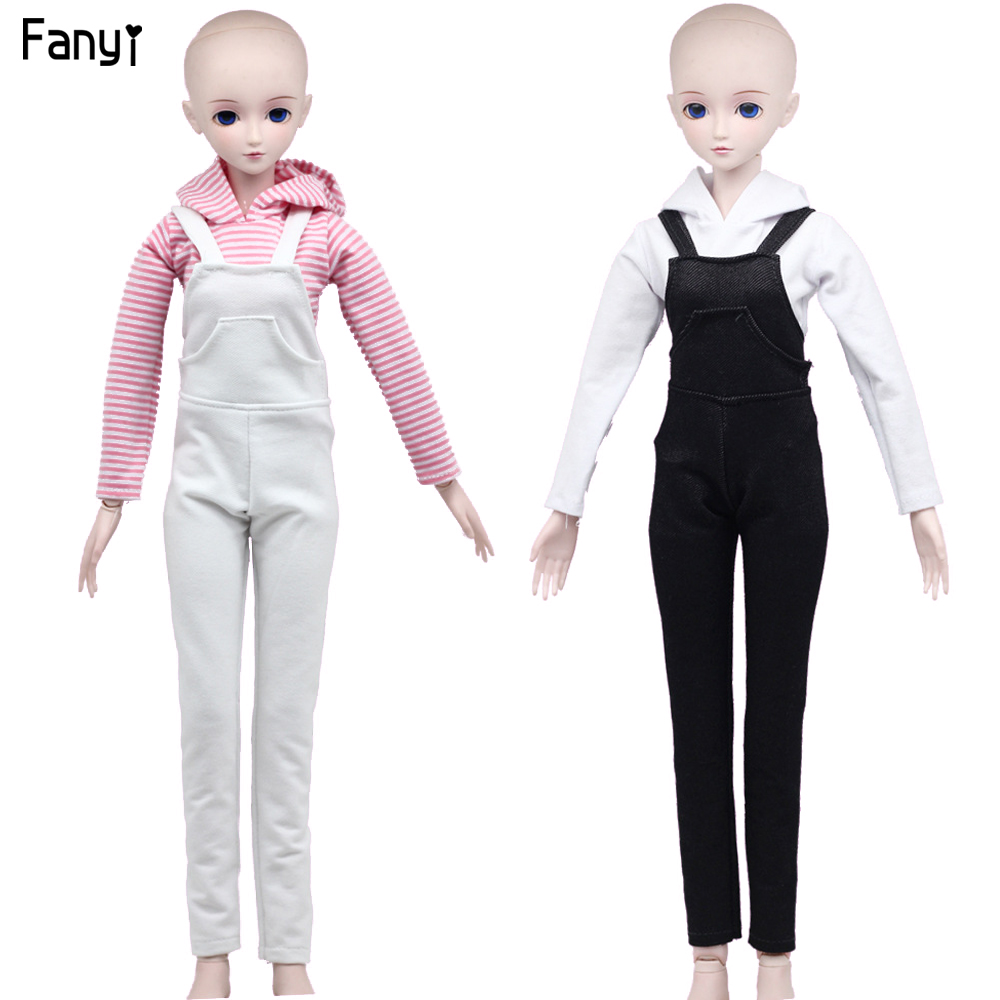<font><b>BJD</b></font> <font><b>accessories</b></font> fashion pants with shirt casual clothes suit for 60cm <font><b>1/3</b></font> <font><b>BJD</b></font> DD SD doll clothes image