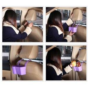 Image 3 - รถถ้วยผู้ถือเครื่องดื่มผู้ถือรถอุปกรณ์เสริมมัลติฟังก์ชั่นชั้นวางที่นั่งปรับได้รถยนต์อุปกรณ์