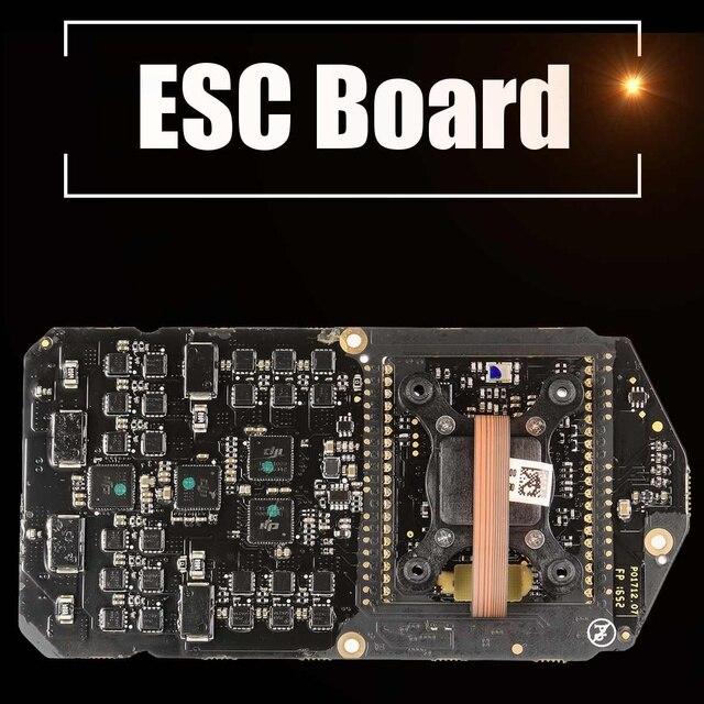 정품 dji mavic 프로 비행 컨트롤러 esc 회로 보드 모듈 칩 교체 rc 드론 수리 부품