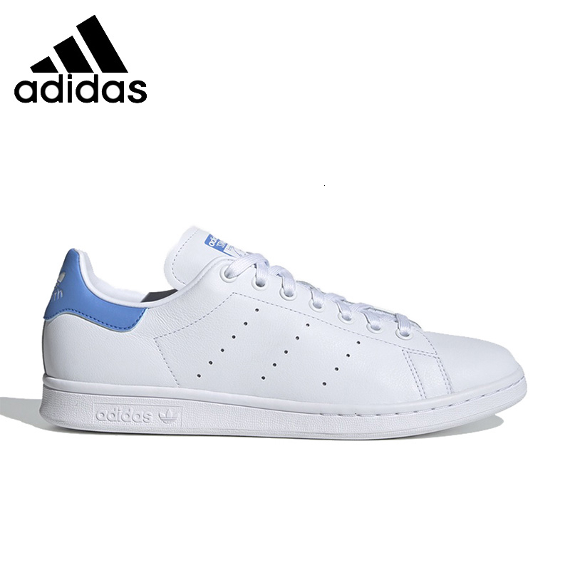 <font><b>Adidas</b></font> <font><b>Originals</b></font> <font><b>Women</b></font> Skateboarding <font><b>Shoes</b></font> Stan Smith White Shoesbreathable Anti-slipery Sports Sneakerd Ef9291 image