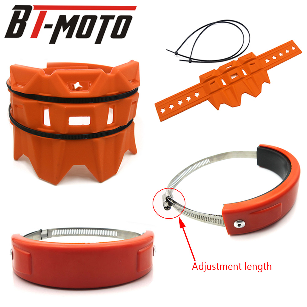 Can-Cover Motorcycle-Accessories Exhaust-Protector CB500X Universal HONDA Oval for 300F