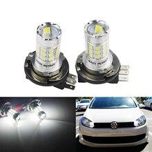 цена на ANGRONG H15 LED Bulb 30W Headlight Daytime Running Light For VW Golf GTI MK6 MK7 Caddy Audi Q7 Mercedes Benz BMW F22