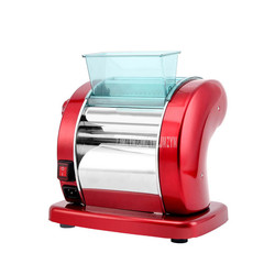 Stainless Steel Dough Press Machine 2.5mm Round 2/4.5mm Flat Noodle Making Machine Lasagne Spaghetti Tagliatelle Dumpling Maker
