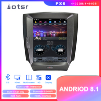Tesla Styel Android 8.1 Car DVD player GPS Navigation For Lexus IS200 IS250 IS300 IS350 2005 2011 auto stereo multimedia screen