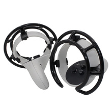 1 Pair Anti collision Ring For Oculus Quest 2 VR Touch Controller Protective Cage Anti Shock Controller Frame Protective Cover