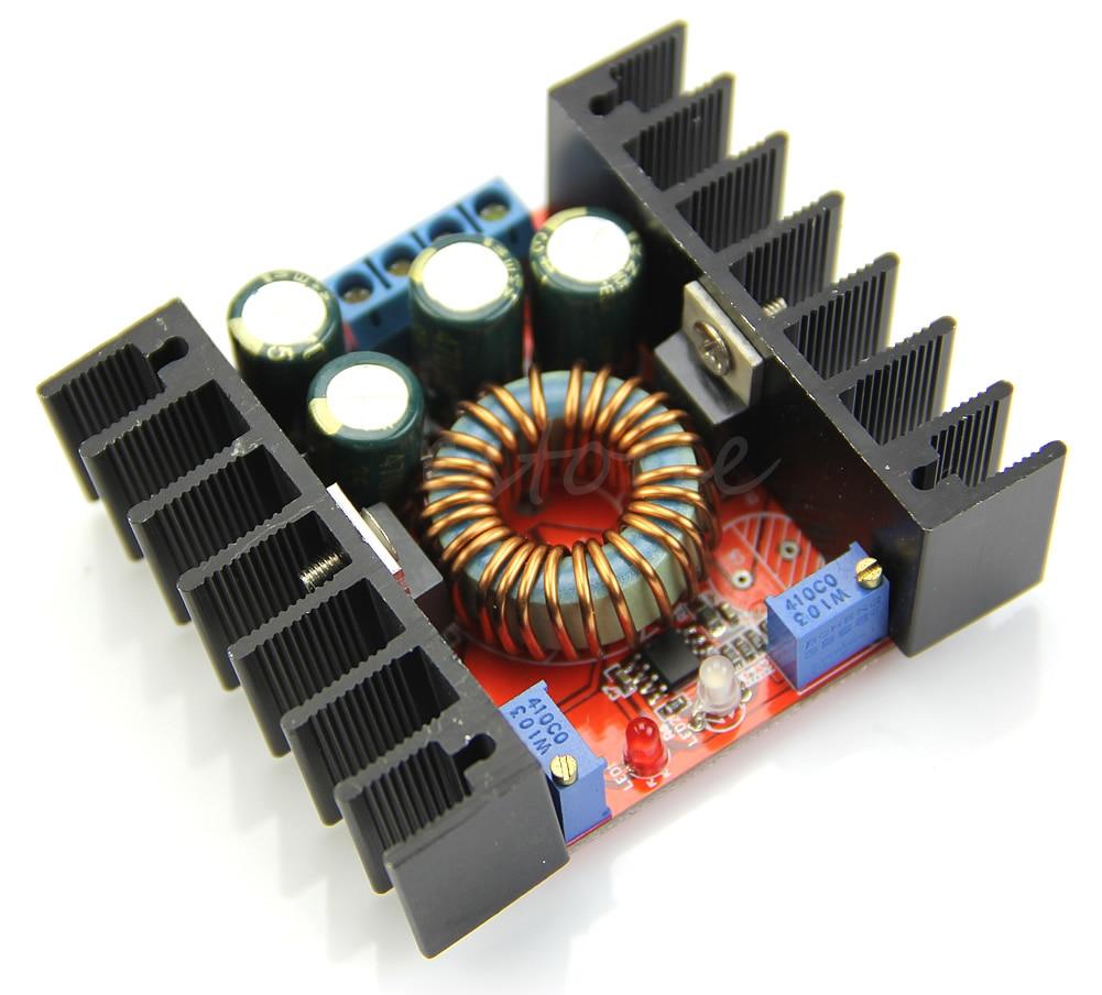 Conversor 10a ajustável 200w para bateria led