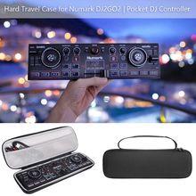 保護ケース収納袋ボックスキャリングため numark DJ2GO2 ポケット dj コントローラ