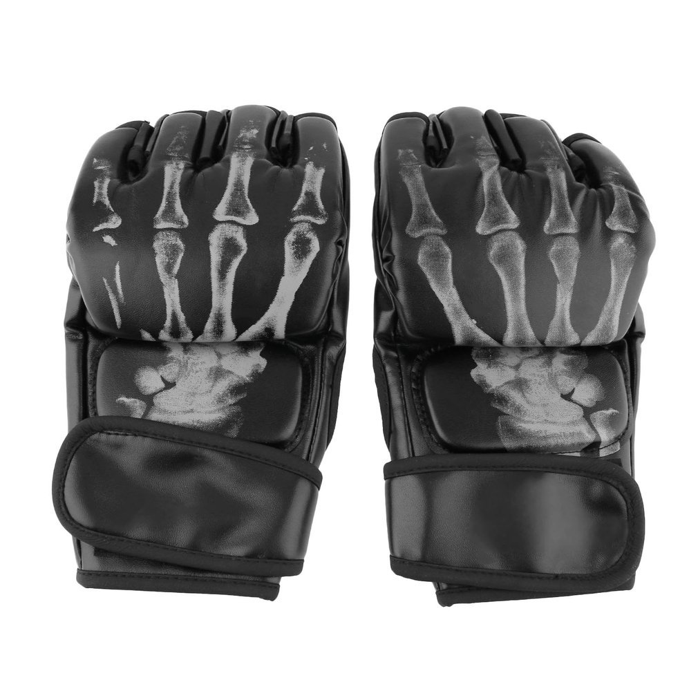 MMA Sparring Grappling Fight Boxing Punch Ultimate Mitts Leather Gloves Give Optimal Protection In Training Competition