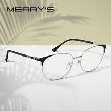 Fashion Eyeglasses Merrys-Design Optical-Eyewear Myopia Prescription Ladies Cat Retro