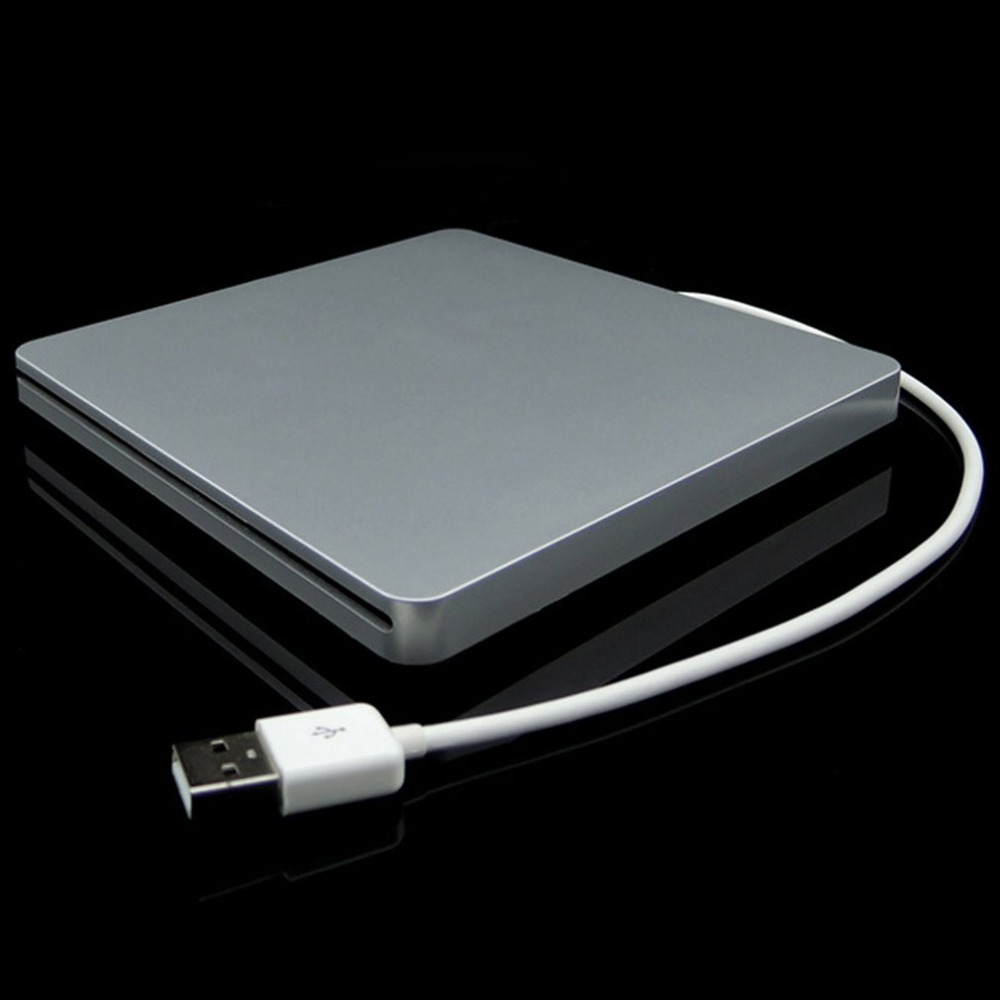 DVD-RW Laptop External DVD Burner Drives Box USB 2.0 Enclosure Case Suction Super Slim USB 2.0 Slot DVD Portatil Drive Blu Ray
