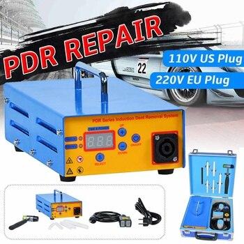 Автомобильный инструмент для удаления вмятин, индукционный нагреватель, ремонтная машина для вмятин 220 В/110 В 1380 Вт, набор инструментов для у