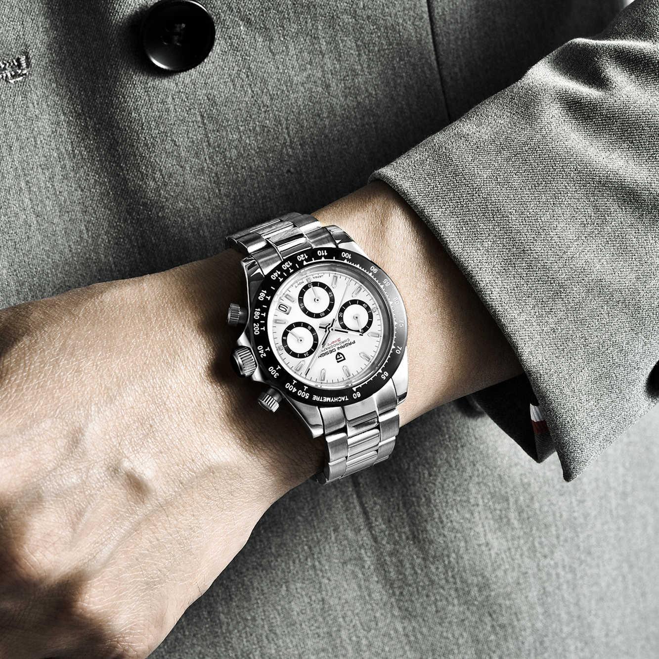 パガーニデザイン 2019 男性スポーツ時計の高級メンズ 100 メートル防水腕時計新ファッションカジュアルメンズ腕時計レロジオ masculino