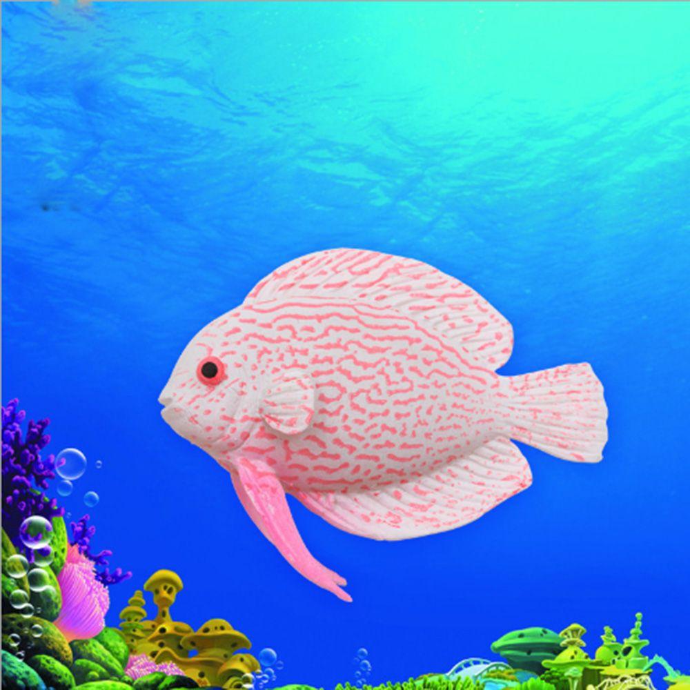 Decor Goldfish Jellyfish Aquarium Decoration Artificial Glowing Fish Tank Decor Silicone Fish Aquarium Water Ornament Pakistan