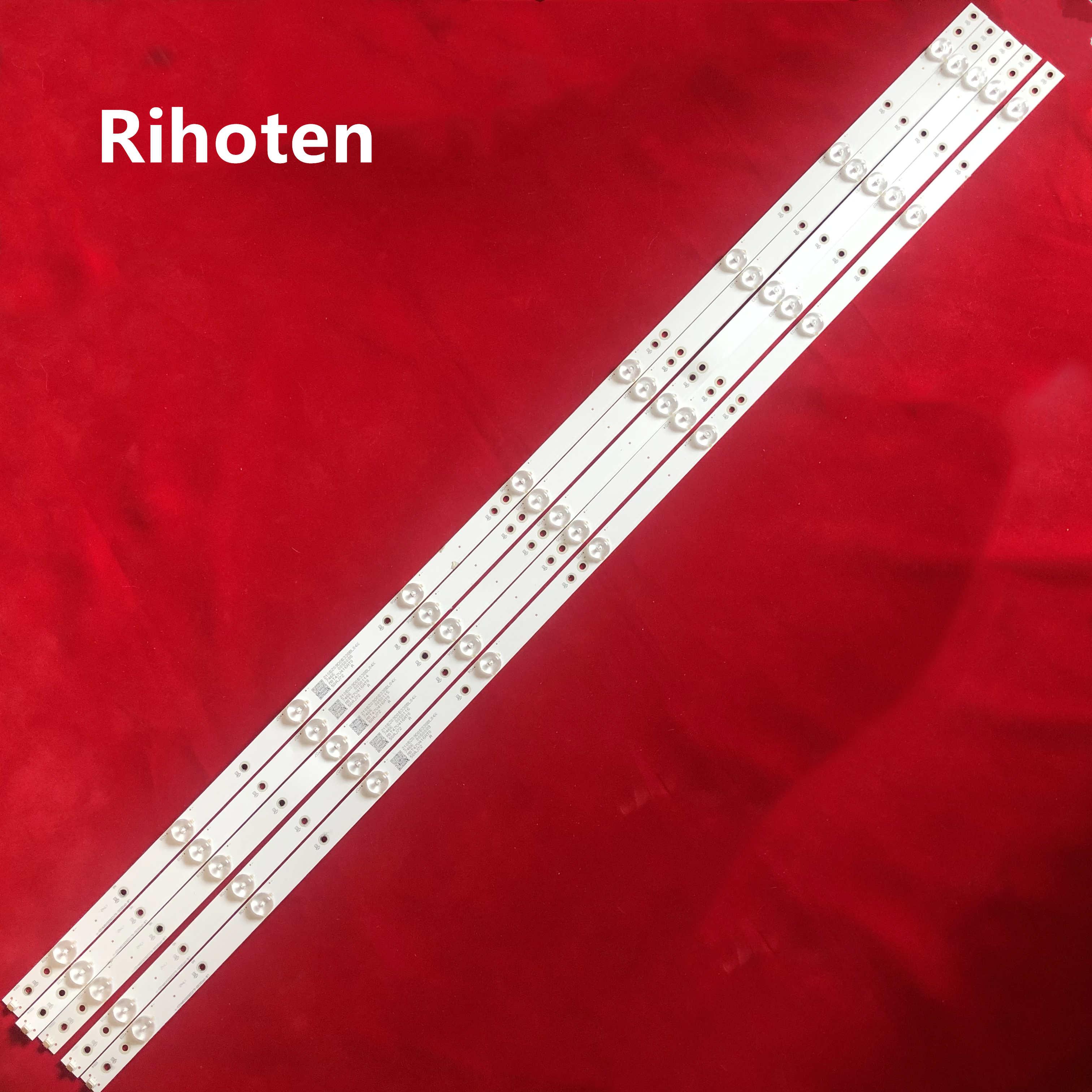 1 set = 5 pièces AMPOULES LED LB-PM3030-GJCD505X9AH22-Y POUR philips 50pug6102 / 78 50PUF6102/T3 9LEDS 1
