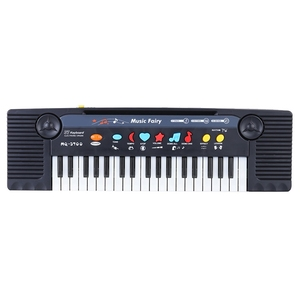 Image 2 - 37 Keys Multifunctional Mini Electronic Keyboard Piano Music Toy With Microphone Educational Electone Gift For Children Babies