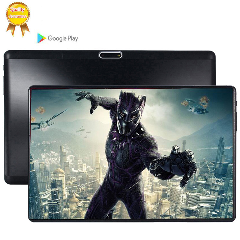 Free Shipping 10.1 Inch Tablet Pc Android 9.0 Octa Core 6GB+128GB 5MP Camera 1280*800 IPS Dual SIM 3G WIFI GPS Tablets 10 128GB