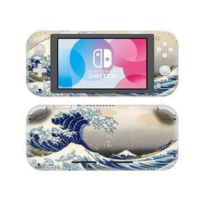 Image 1 - Great wave nintendoswitch pele adesivo decalque capa para nintendo switch lite protetor capa nintend interruptor lite pele adesivo