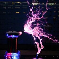 220V SSTC Tesla bobine haute puissance Plasma corne haut-parleur musique haute fréquence entraînement arc extincteur générateur Kit de bricolage lecteur conseil
