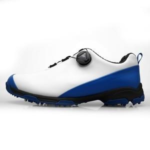 Image 2 - 2020 Golf Schuhe für Männer Atmungsaktive Sport Turnschuhe Wasserdichte Golf Schuhe Nicht Slip Herren Training Turnschuhe Golf Schuhe für Männliche