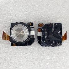 Srebrny optyczny soczewka powiększająca bez przetwornika CCD naprawa część dla Sony DSC WX1 WX1 WX5 WX5C W380 W390 aparat cyfrowy