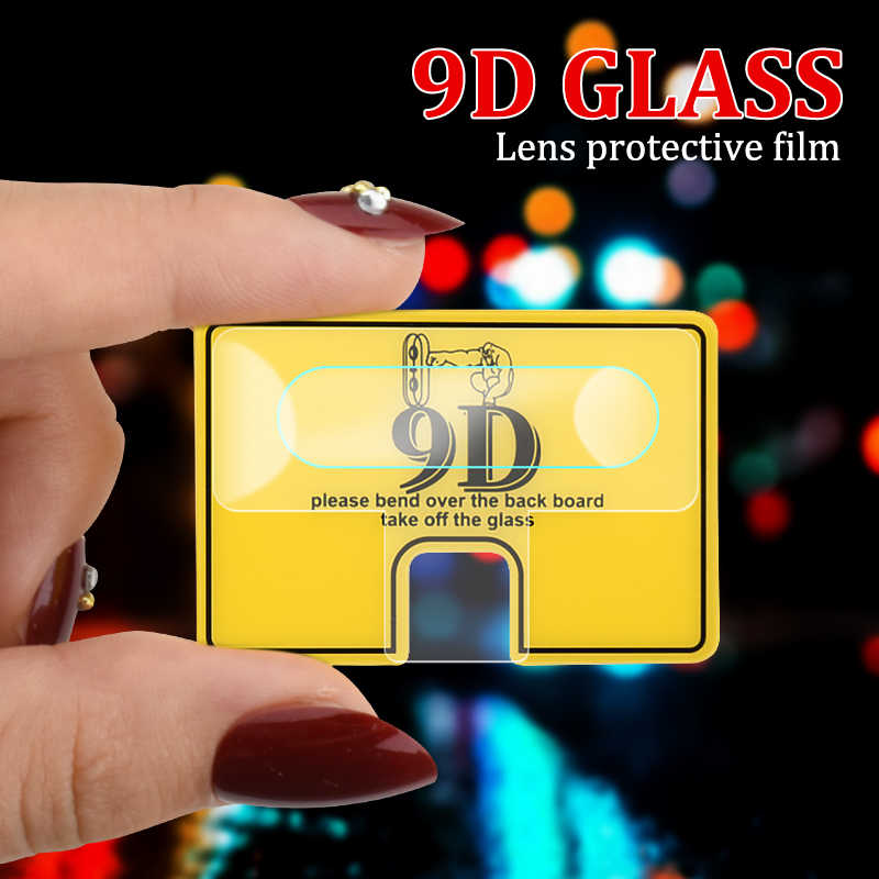 9D Lens Film Protector For Huawei P20 P30 Lite Pro Y9 Y6 Prime 2018 2019 Camera Guard Tempered Glass For Honor 7A 7C 20 9 Lite