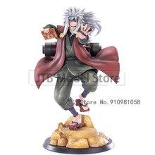 Naruto shippuden gama sennin gk anime modelo figura de ação 20cm pvc estátua collectible jiraiya brinquedo decoração desktop boneca figma