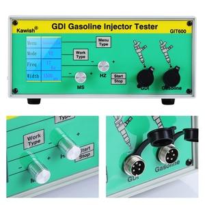 Image 4 - Neueste GIT600 GDI/FSI benzin injektor tester benzin injektor tester auto injektor tester Benzin Direct Injection tester