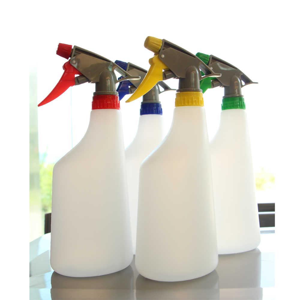 6 stücke 650ml Spray Flaschen Kunststoff Nebel Sprayer Für Salon Blume Pet Gartenarbeit Hause Bewässerung Kanister Hand Druck Sprayer