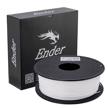 White Color Ender 3D PLA Printer Filament 1.75mm 1kg/Roll 2.2lb Spool with CE Certification For 3D Printer
