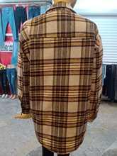 2020 damski płaszcz drwal Shirt (płaszcz) kwadratowy płaszcz w paski damski płaszcz stylowy damski płaszcz damski tanie tanio TR (pochodzenie)