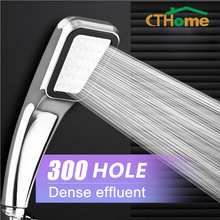 CTHome 300 Hole Square High Pressure Bathroom Rainfall Shower Head Handheld Shower Water Saving Shower Head Filter Sprayer Head цены онлайн