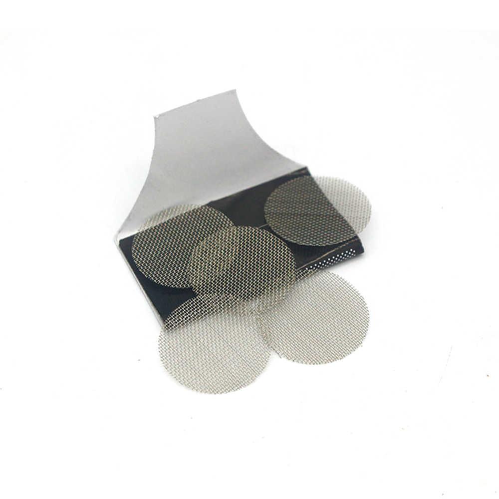 Filtros multifuncionais filtro de metal tela da tubulação de fumaça gaze tabaco fumar acessórios