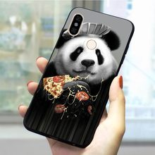 Panda Dab on the EM Soft TPU Cover for Xiaomi Redmi Go Phone Case for K20 Pro Note3 3pro Note4 5Pro 6Pro 7Pro 5A Prime Back(China)