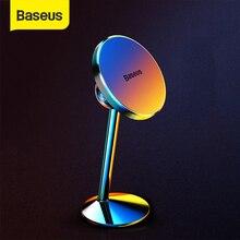 Baseus حامل هاتف السيارة المغناطيسي آيفون سامسونج خلية الهاتف المحمول حامل المغناطيس 360 ثلاثية الأبعاد دوران غس سيارة الهواء تنفيس جبل حامل